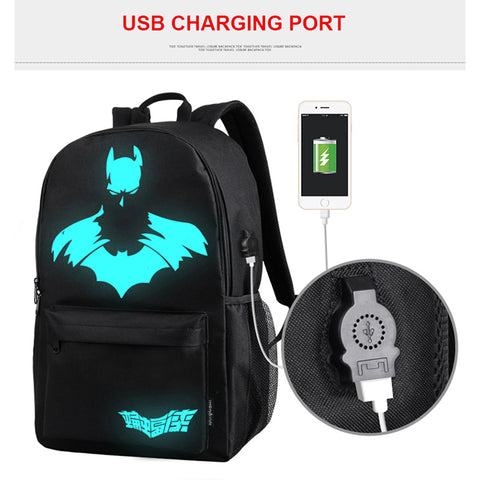 Image of LUMINOUS ANTI-THEFT BACKPACK