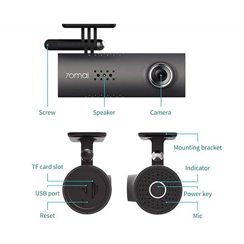 Image of Smart Wifi Dash Cam