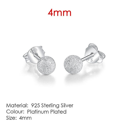 Image of Silver Snow Pendant Earings