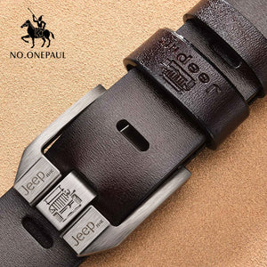 Genuine Leather Cowskin Belt