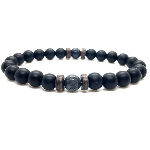 Image of Moonstone Bead Bracelet