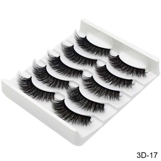 3D Mink Hair False Eyelashes
