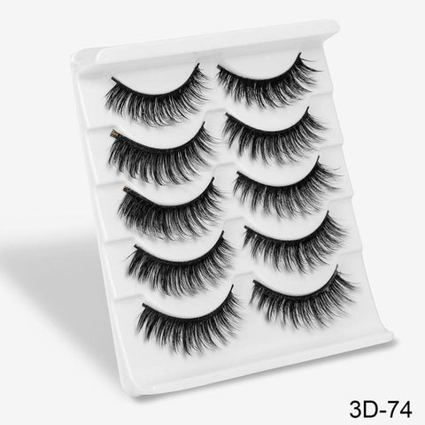 Image of 3D Mink Hair False Eyelashes