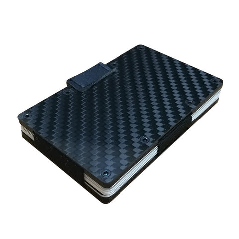 Image of Carbon Fiber RFID  Wallet