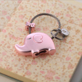 Elephant Couple Keychain