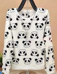 Cute panda hoody sweatshirt for Women