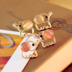 Cute Elephant ear rings