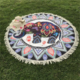 Elephant Tapestry Wall Hanging Beach Mat