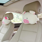 Piggy Car Headrest