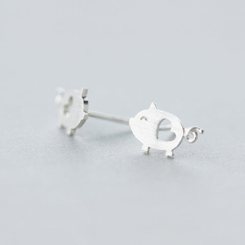 Cute Piggy Earrings - petsareawsm