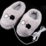 USB Powered Piggy Electric Heat Slippers