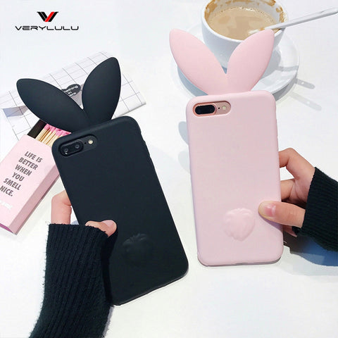 Cute Bunny Ears case for iPhone - petsareawsm
