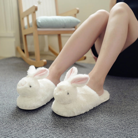 Adorable Bunny Slippers - petsareawsm