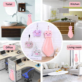 Cute Piggy Hand Towel - petsareawsm