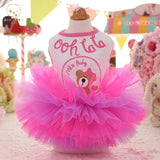 Pet Tutu Princess Skirt