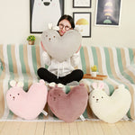Heart Shape Bunny Pillow - petsareawsm