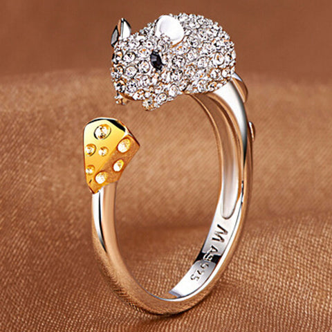 Retro Zodiac Rings
