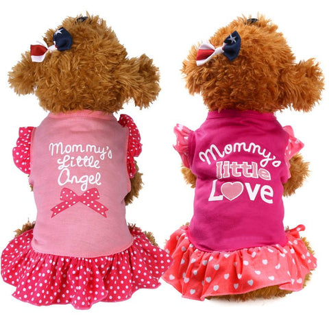 Cute Pet Spring Sleeveless Dress