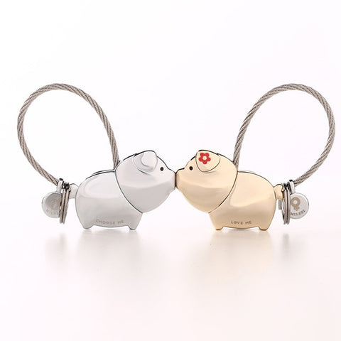 Piggy Eternal Love Keychain
