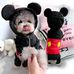 Pet Winter Mickey Coat