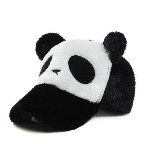 Autumn Panda Hat