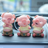 kiss pig keychain for Lovers