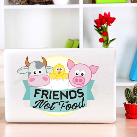 Cute Friends not Food Sticker