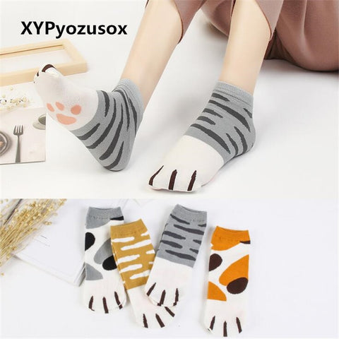 Cute Kitty Cotton Socks