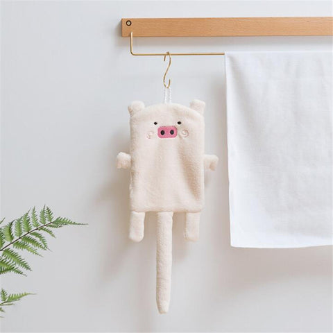 Piggy Hand Towel