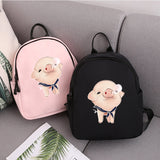 Cute Piggy Backpack