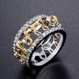 Antique Lucky Elephant Ring