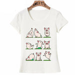 Best friends Super Cute Animal Yoga Print T-Shirt