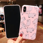 Cute Pig Phone Case For iPhone