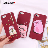 Funny Pig Phone Case For iPhone