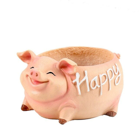Cute Pig Flower Mini Pot