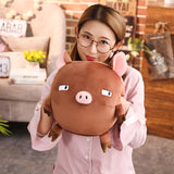 35cm Cute Round Pig Plush Toy