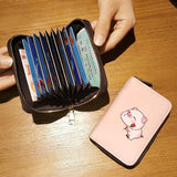 Cute Pig Credit Card Holder