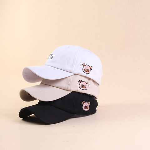 Adjustable PIG Baseball Cap