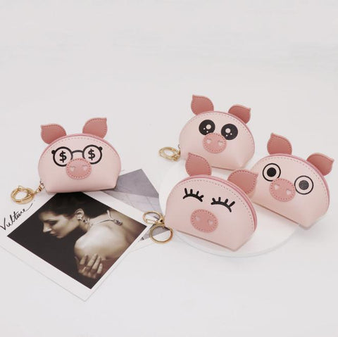 Cute Piggy Women Coin Purse