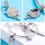 925 Sterling Silver Pig Pendant For Women