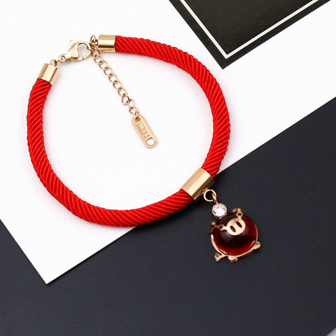 Lucky Pig Female bracelet