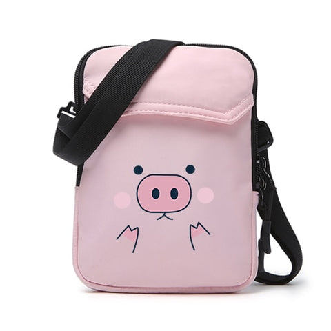 Cute Piggy Mini Messenger Bag