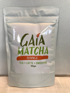 Premium Organic Fruit Flavoured Matcha Collection 100g