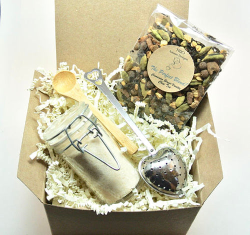 Chai Tea & Ginger Sugar Gift Set, Tea Lover