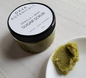 Vanilla Mint Matcha Face & Body Scrub