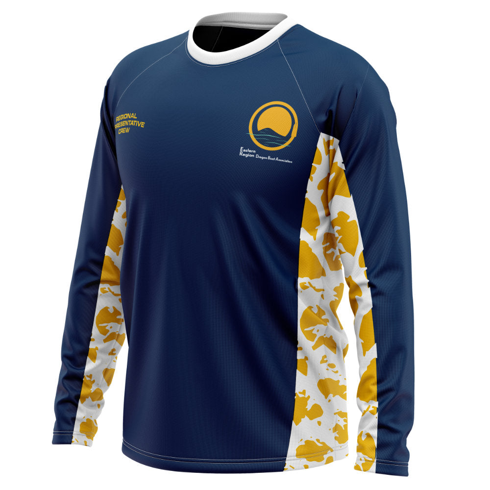 ERDBA Official Unisex Sublimated Long-Sleeve Tee