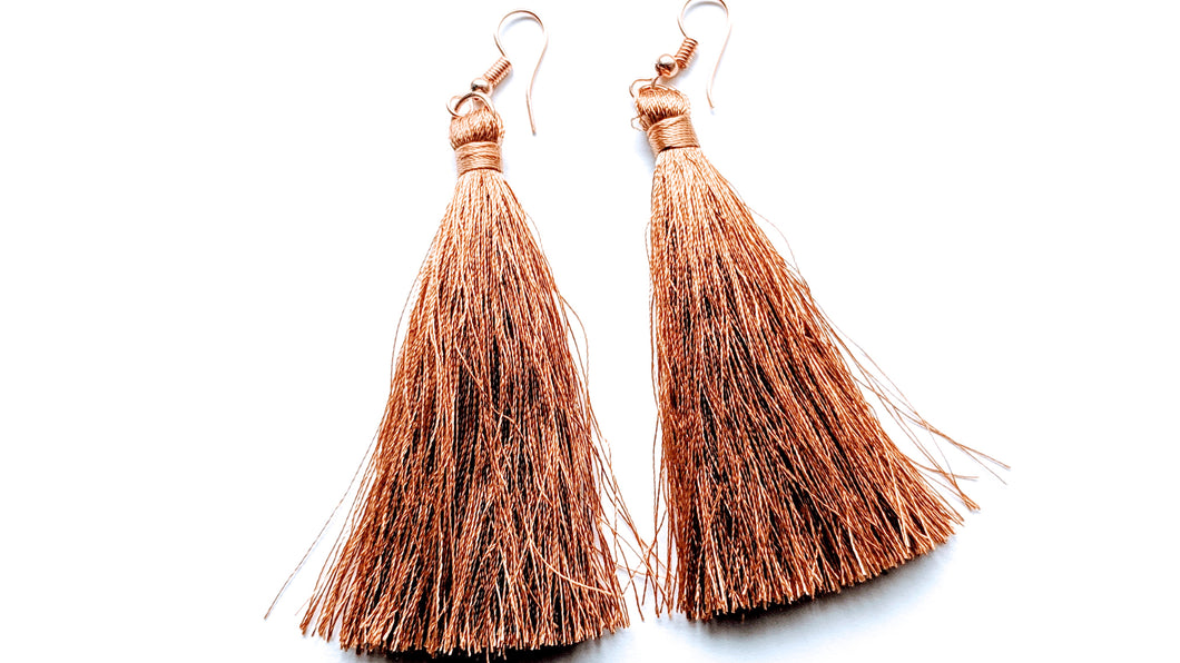Goldie Tassel Earrings