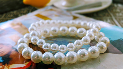 Pearl Stacking  Bracelets
