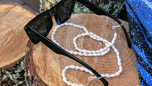 Brenna Beachy Shell Sunglasses Chain