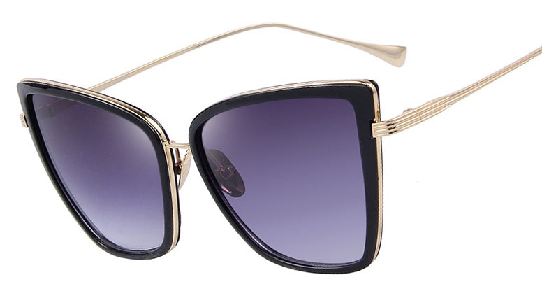 Claudette Oversized Cateye Sunglasses